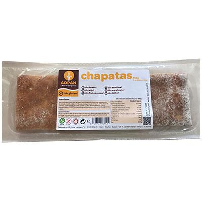 Chapata sin gluten 210 g