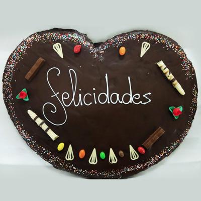 Palmera gigante de chocolate