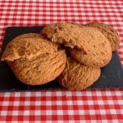 Torta de arándanos y azúcar moreno (10 unidades)