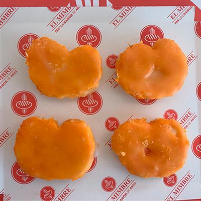 Palmeritas glaseadas de yema tostada (pack de 8 unidades)