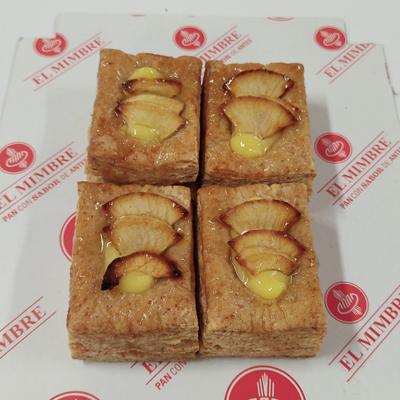 Pasteles de manzana de espelta integral sin azúcar (pack 4 unidades)