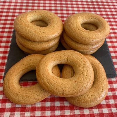 Rollos con naranja sin azúcar (9 unidades)