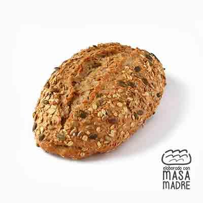 Pan de centeno 30% y semillas 11% ecológico 400 g