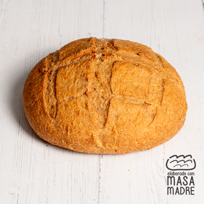 Hogaza con harina integral 70% 450 g