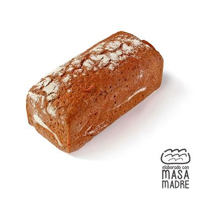 Pan de molde centeno 100% 500 g