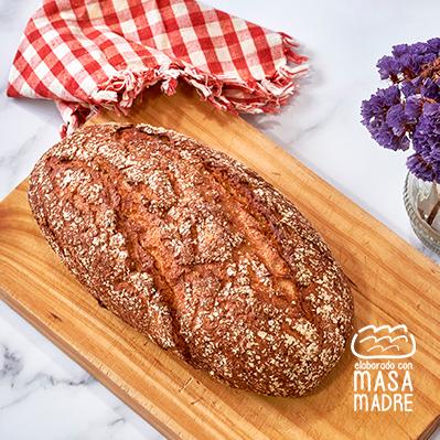 Pan con centeno 40% y patatas 10% 450g