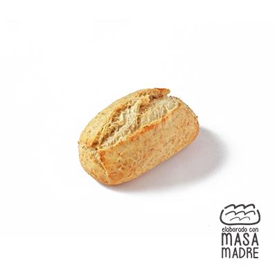 Capricho elaborado con harina integral 40% 40 g